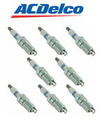 Ac Delco 41-962 Platinum Ignition Spark Plug Set Of 8 For Chevy Gmc Buick New