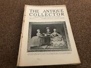 Antique Collector Magazine 18/7/1931 Francis Cotes Mr Punch On Postage Stamps
