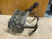 Antique Roho Type Garden Hand Push Cultivator Tiller Weed Plow Vegetable Claw