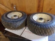 Cub Cadet 1811 1810 Tractor 16x6.50-8 Front Tires And Rims - 1 Shaft