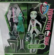 Monster High Scarah Screams And 3 Outfits I Love Fashion Doll New In Box