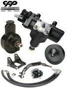 1965-68 Chevy Caprice Impala Power Steering Gearbox Conversion Kit Small Block