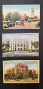 Lot Of 130 Postcards Of Old Court Houses Throughout The U.s Never Used