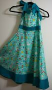 Disney Parks The Dress Shop Disneyland Park Icons Halter Dress New With Tags