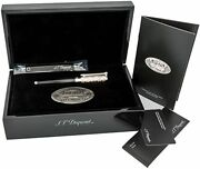 S.t. Dupont Limited Edition Wild West Line D Rollerball Pen 412065 New In Box