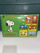 Peanuts Snoopy Cube Puzzle 1980and039s Rare 6 Pieces In 1 From Japanese