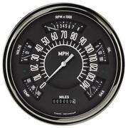 Classic Instruments Six Pack Gauge 1949-50 Chevy White