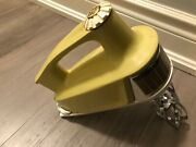 Vintage Ge General Electric Pastel Yellow Multi-speed Hand Mixer Tested Works