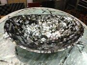 24 X 19 Inches Hand Crafted Vessel With Elegant Look Counter Top Bathroom Sink
