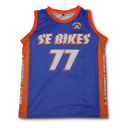 Se Bikes New York Ripper Basketball Jersey New With Tags Limited Edition