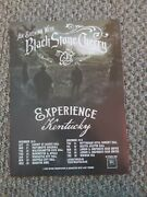 Abc51 Advert/poster 11x8 An Evening With Black Stone Cherry Tour Dates