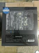 Brand New Max Factory Figma Insane Black Rock Shooter Bluray Box Limited Edition
