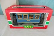 Lgb 3013 Lighted Voiture Restaurant Dining Passenger Car W/ People G Scale