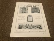 Aabk24 Antiques Advert 11x8 Christie Mason And Woods Fine Old English Silver
