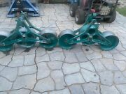Lot Of Two Greenlee Triple Cable Sheave