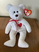 Valentino Beanie Baby With Brown Nose And Tag Errors