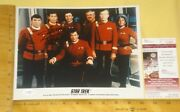Real Jsa Authentic George Takei Autographed 8x10 Color Photo James Spencer