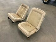 First Generation Ford Bronco Factory Interior Front + Rear Seats 1966-1977 Rare