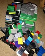 Huge Lot Of Authentic Lego Base Plates 32x32 16x32 16x16 8x16