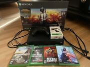 Xbox One X 1 Tb W/ All Cables Control Charger Kit 4 Games.andnbsp Fast Shipping