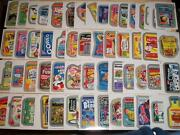 2013 Wacky Packages All New Series 11 Ans11 Complete Silver Border Set