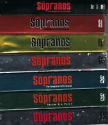 The Sopranos Seasons 1-2-3-4-5-6 Dvds Free Shipping Like New