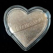 Solomon Islands 2021 2 I Love You With All My Heart Rose-silver Coin By Pamp