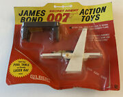 Vintage 1965 Gilbert Toys James Bond Toy Pool Table Laser Ray Factory Sealed B1