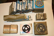 Nos Lot Trw Engine Timing Gears / Chains / Pistons - 1950+