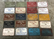 Indiana Well Drilling Contractors Assoc. License Plate Collection
