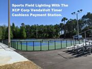 Outdoor Arena Commercial Lighting Cashless Payment Vending Control Station