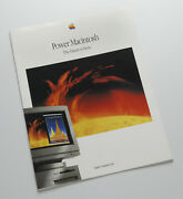 Apple History Rare 1994 Power Macintosh Brochure. Sold By The Photographer