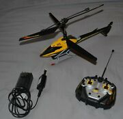 Air Hogs Remote Control Helicopter - Gryphon Yellow 2011 - Tested
