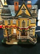 2005 Lemax Coventry Cove Davidson Manor 55272 Christmas Village