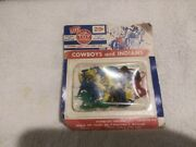 Cowboys And Indians The Toy House Brand Set 29 Cent Label 1960s