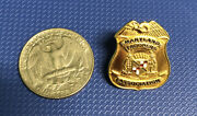 Md Maryland State Police Trooper Association Mini Badge Pin Lapel Gold Tone