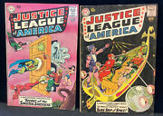 Justice League Of America 2 And 3 2 Book Lot 1961 Lower Mid Grade