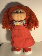 Vintage Cabbage Patch Kids Doll 1978 1982 Red Orange Hair Blue Eyes Clown Shoes