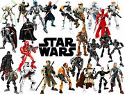 Star Wars Action Figures 27 Set Piece Complete Build And Play Collectable Seperate