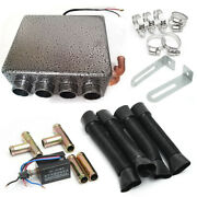 12v Universal Auto Car Underdash Compact Heater With Speed Switch For Car Truck