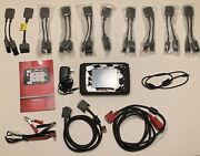 Snap-on P1000 V19.4 Scan Tool Automotive And Motorcycle Scanner With Adapter Kit