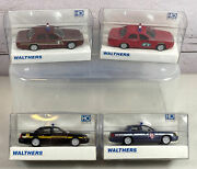 Four 4 Walthers Ford Crown Victoria Police Car 933-1251535760 Ho Scale 187