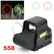 Red Green Dot Reflex Sight Scope 558 Serie Tactical Holographic Optic 20mm Rail