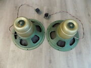 Vintage University 15 Coaxial 6303 3-way Diffaxial Speaker System Woofer Horn
