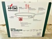 All-clad Brushed D5 Stainless Cookware Set Pots And Pans 5-ply Ss 10 Pieces