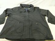 Lands' End Women's Plus Outrigger Mesh Lined Jacket Black 3x - New Without Tags