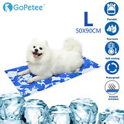 Gel Cool Mat Self-cooling Pet Bed Summer Sleeping Pad For Dog And Cat Heat Relief