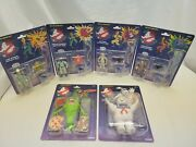 The Real Ghostbusters Action Figures Lot Of 6 Kenner Egon Peter Ray Winston Etc