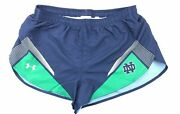 Under Armour Menand039s Notre Dame Fighting Irish Running/track Shorts