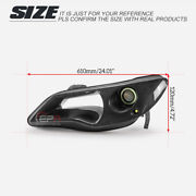 For 06-08 Civic Fd2 Lhd Driver Side Carbon Headlight Air Duct With Light And Led